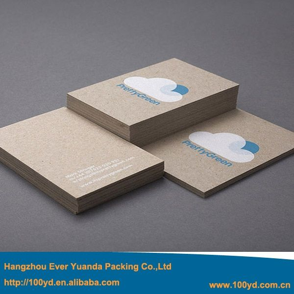 New Popular Simple Designer Custom Business Cards Thick 600gsm Cardboard paper Printing Name/Visit Card Professional Manufactory