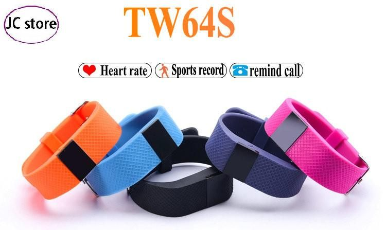 Itek TW64S Smart Band Heart Rate Pulse Fitness Tracker Bluetooth Wristband For IOS Android xiaomi Phone pk mi band