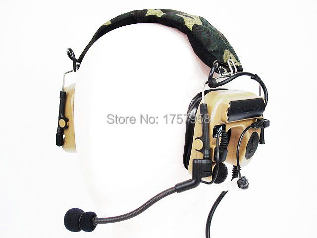 Element/Z Tactical Comtac IV Style Tactical Headset Z Tactical Comtac Headset DE - Z038