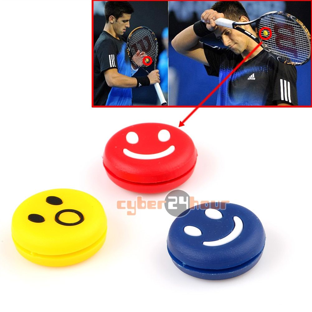 Hot 5pcs Rubber Tennis Shock Absorber Racquet Vibration Dampeners Shockproof Damper Free Shipping!