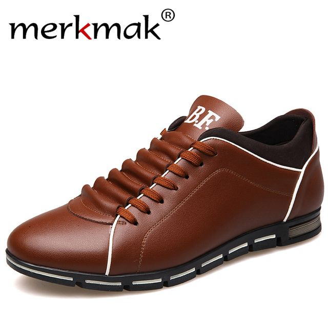 New 2017 Luxury Brand Men Shoes England Trend Casual Leisure Shoes Leather Shoes Breathable For Male Footear Loafers Men's Flats