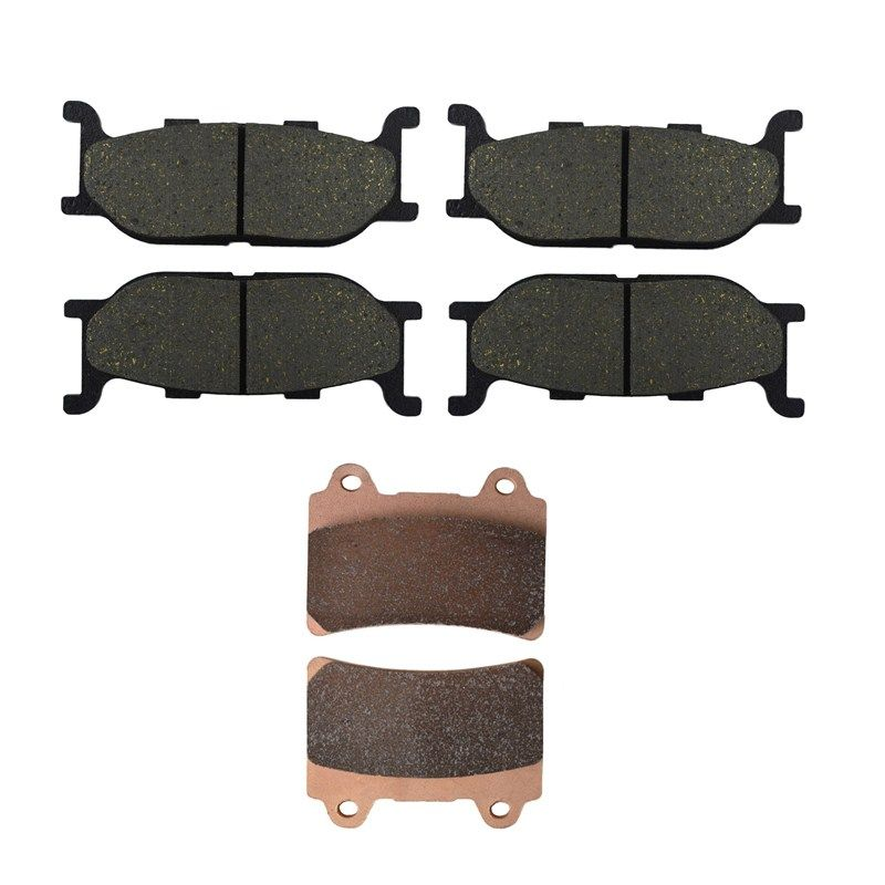 Motorcycle Front and Rear Brake Pads for YAMAHA XV 1600 A XV1600A Wildstar 1999-2004 Brake Disc Pad