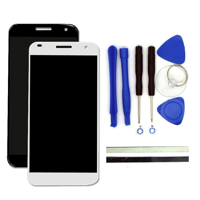 For Huawei Ascend G7 LCD Display +Digitizer Touch Screen Glass Replacement Cell Phone Parts With Free Tools