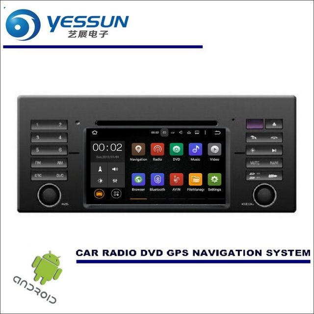 YESSUN Wince / Android Car Multimedia Navigation System For BMW X5 E53 / 7 E38 / 5 E39 / CD DVD GPS Player Navi Radio Stereo HD