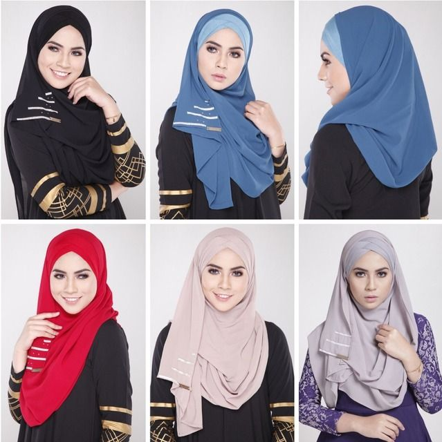 New Muslim Women Headscarf Covering hijab Abaya Scarf Islamic Cover Wears Fashion Chiffon Easy Matching Inner Hijab Spandex