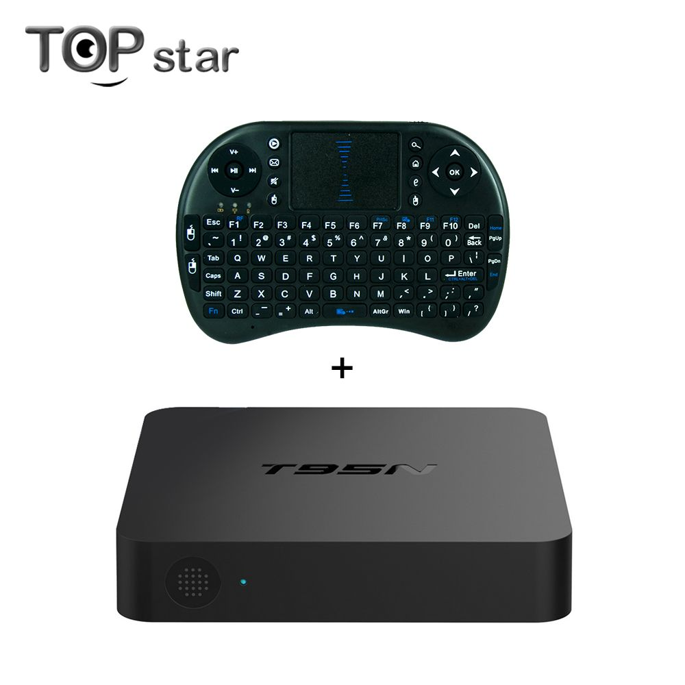 T95N Android 6.0 TV Box S905X Quad Core Wifi 2G 8G Memory Smart Set top Box Emmc DDR3