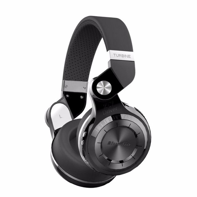 Bluedio T2+ Wireless Bluetooth 5.0 Stereo Headphone sd card&FM radio Headset with Mic High Bass Sounds