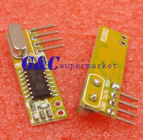 RXB12 433Mhz Superheterodyne Wireless Receiver Precise
