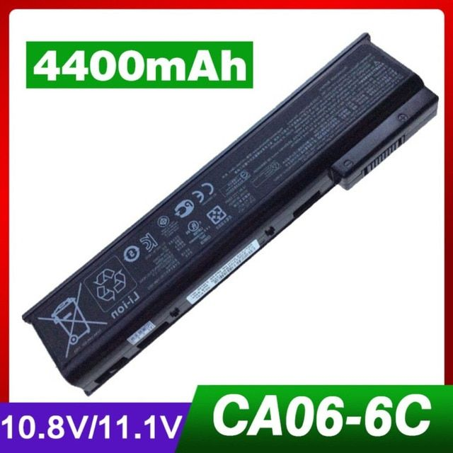 4400mAh Rechargeable Laptop Battery for HP CA06 CA09 for ProBook 640 G0 G1 645 655 650 Series HSTNN-LB4Z 718756-001 HQ-TRE 71004