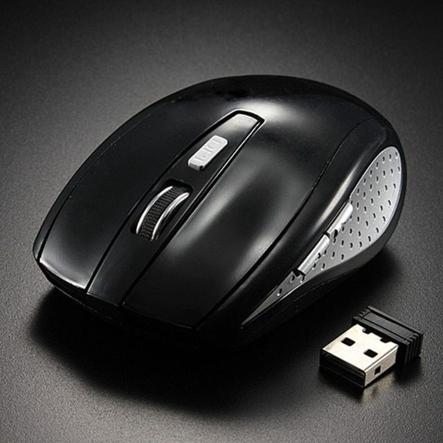2.4G Wireless Mouse Mini 5 Button 1200 DPI Optical Gaming Mouse PC Gamer Mice For Notebook Computer Laptop