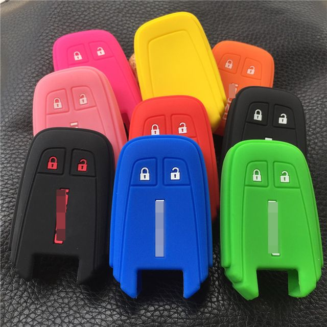 Silicone rubber Car Key Case Holder Cover For Isuzu MU-X 2 button key case cover