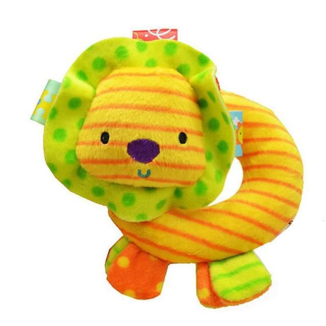 0M+Baby plush mobile musical soft rattle Animal toy Toddler infant Toys juguetes brinquedos para bebes jouet christmas gift