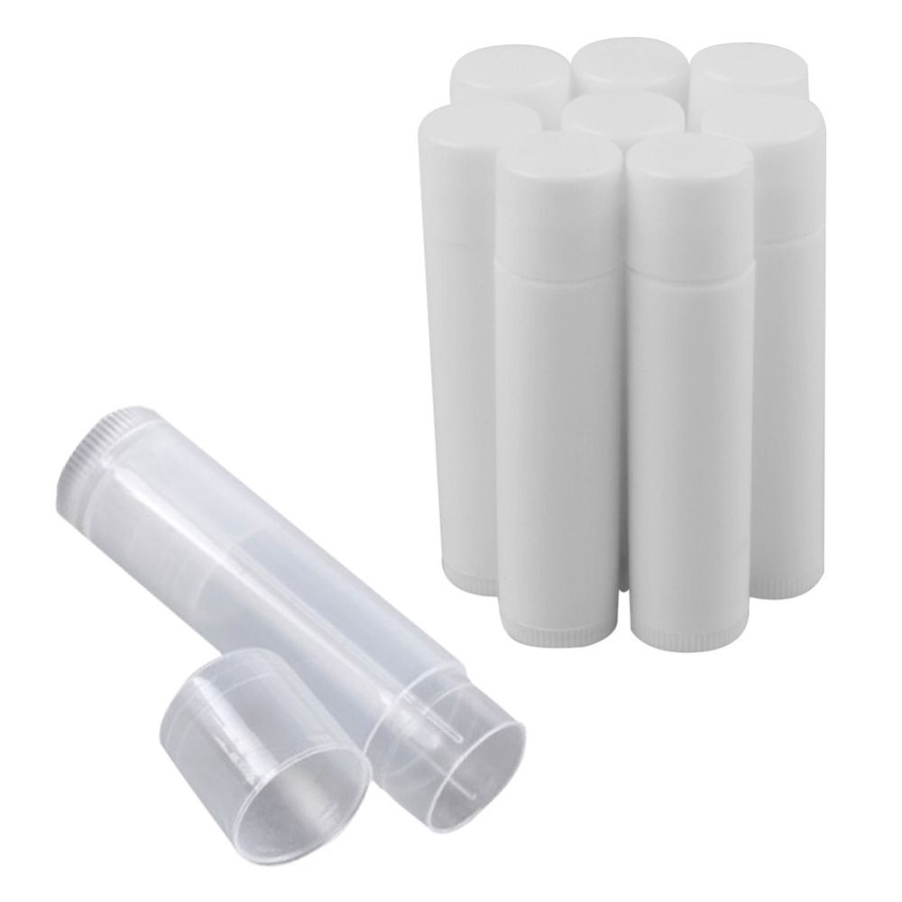 50pcs/Lot Empty Plastic Clear LIP BALM Tubes Containers Lipstick Fashion Cool Lip Tubes HB88