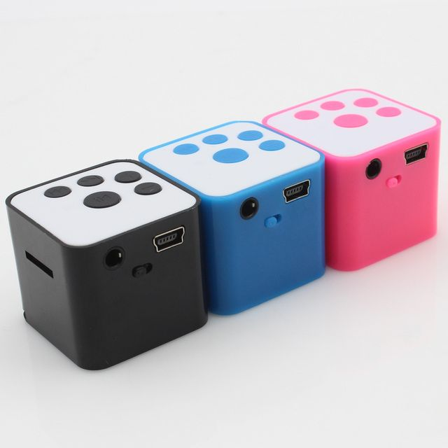 2016 New Fashion Portable mini MP3 Player Support Micro TF/SD Card sport mp3 Music players Extroverted mp3 speaker free shipping