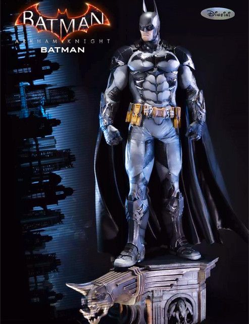 Statue Avengers Batman statue 1:3 scale Batman Full-Length Portrait : Arkham Knight Polystone Statue WU692