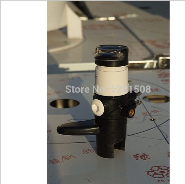 High quality plastic homebrew beer Bottle filler beer tap de-foaming beer tap for beer bar