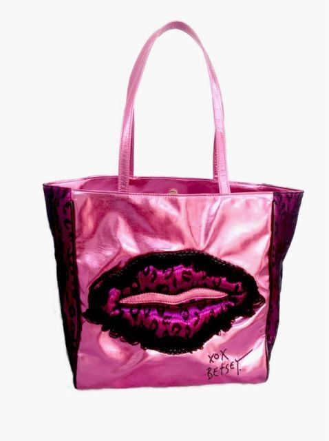 Free shipping Leopard lace mei red light shopping bag Lace lips shoulder  bag authentic brand handbags