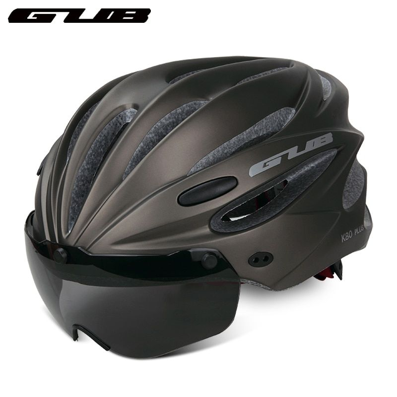 GUB ultralight bicycle PC lenses goggles helmet cap Mountain road bike racing cycling mtb helmet bland evade safety sport helmet