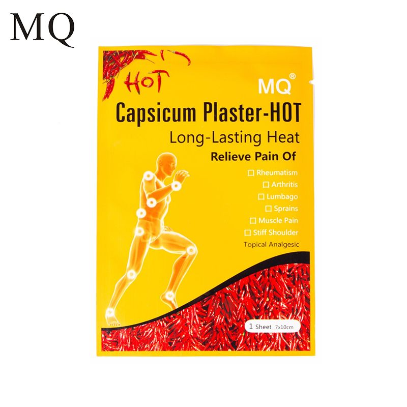 MQ 10 Pcs/ Lot Hot Capsicum Pain Relief Plaster Porous Medical Patch for Body Massager Health Care Products China Plaster