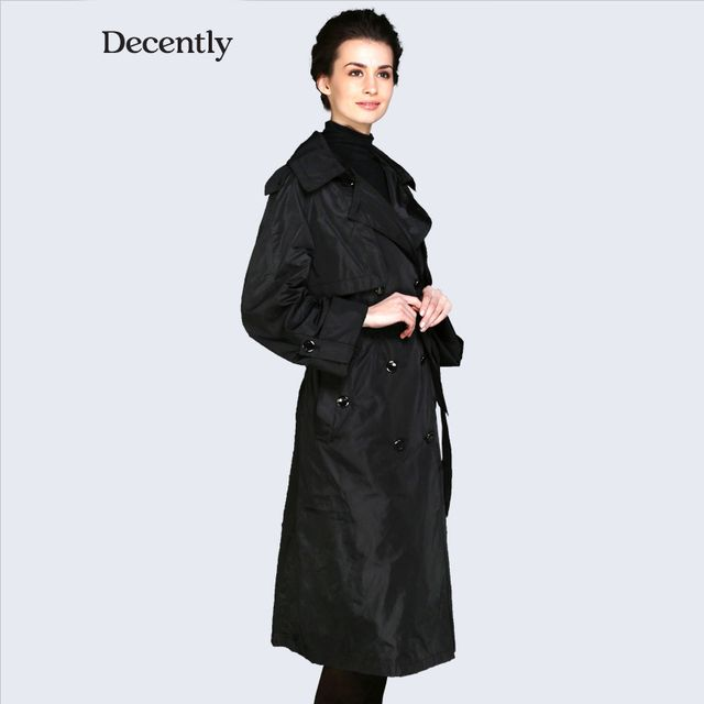 Decently 2016 new Womens Chic Tops jackets hooded windbreaker women coat fashion  9835