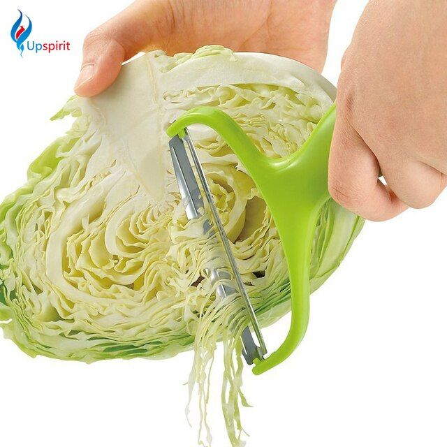 Upspirit Stainless Steel Vegetable Peeler Cabbage Wide Mouth Graters Salad Potato Slicer Cutter Fruit Knife Kitchen Tools