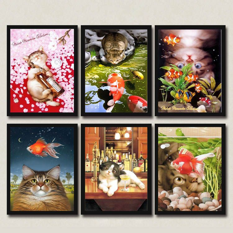5d Diy Diamond Painting Crystal Cat Embroidery Dmc Cross Stitch Horse Mosaic Painting Rhinestones Crystal Mountain Needlework