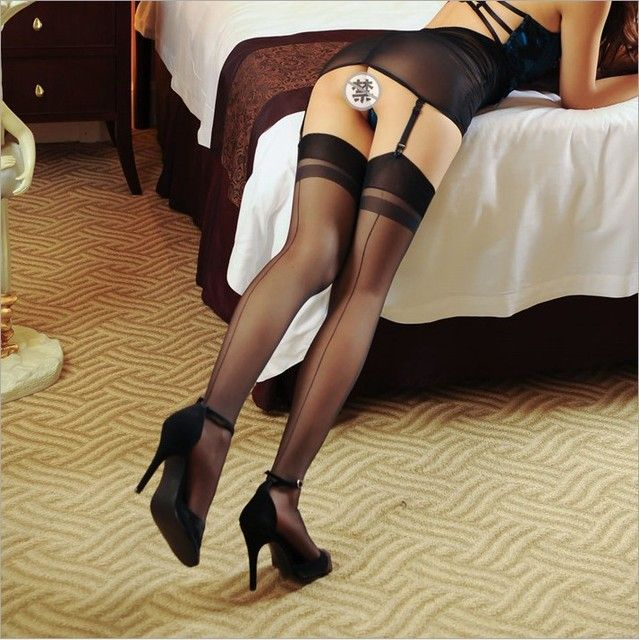 15D seamed stockings Womens sexy  stockings with back seam,Transparent Silk Stocking hose,Pantyhose Leggings meia,
