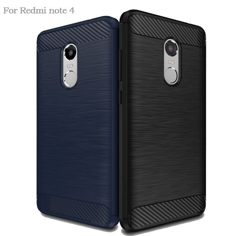 Hybrid Armor Case For Xiaomi Redmi Note 4 Pro Silicone Case For Xaomi Redmi Note 4x 3 Mi A1 5X Soft TPU Back Cover For Xiomi