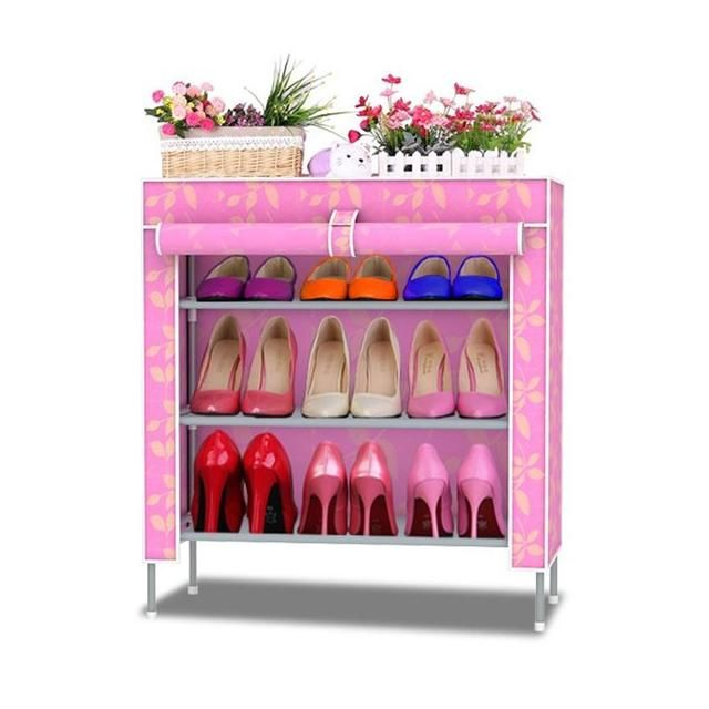 Shoe racks Non-woven fabrics furniture Shoe cabinet shoe storage mueble zapatero shelf for shoes
