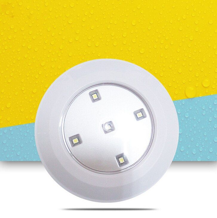 Vioslite Remote Control Light Cordless Battery Power LED Night Light Stick-anywhere Closet Stair Lights
