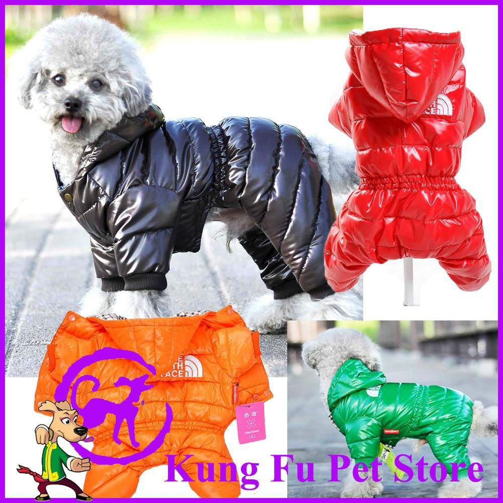 Newest Thicken Dog Down Jacket Large Size Winter Dog Clothes Pet Coat Products For Animals Productos Para Mascotas. P036