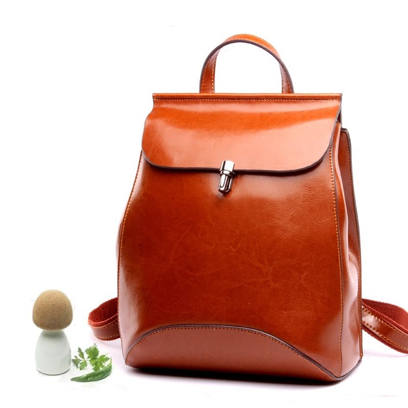 2017 Spring New split leather backpack Women's Fashion Simple Design Backpacks School Bags teenager travel shoulder bag Mochila