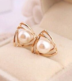 Korean Jewelry Sweet And Romantic And Lovely An Generous Temperament Imitation Pearl Earrings Boucle D'oreille Femme 2017 Brinco