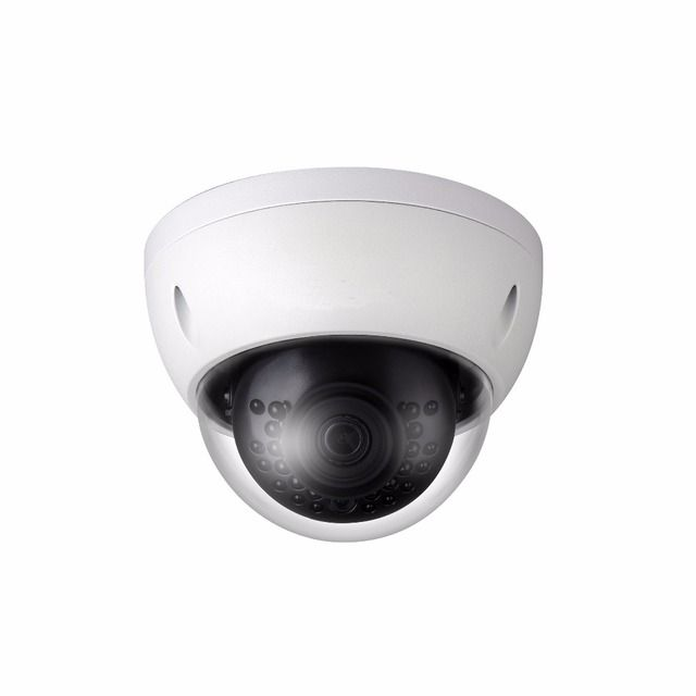 CCTV IP Camera 1MP IR Mini-Dome Network Camera with Fixed Lens IP67 POE IPC-HDBW1020E