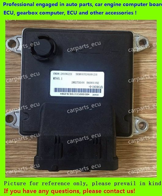 For Cruze car engine computer/MT60 ECU/ Electronic Control Unit/Car PC/ B6001192/28387203/28273544