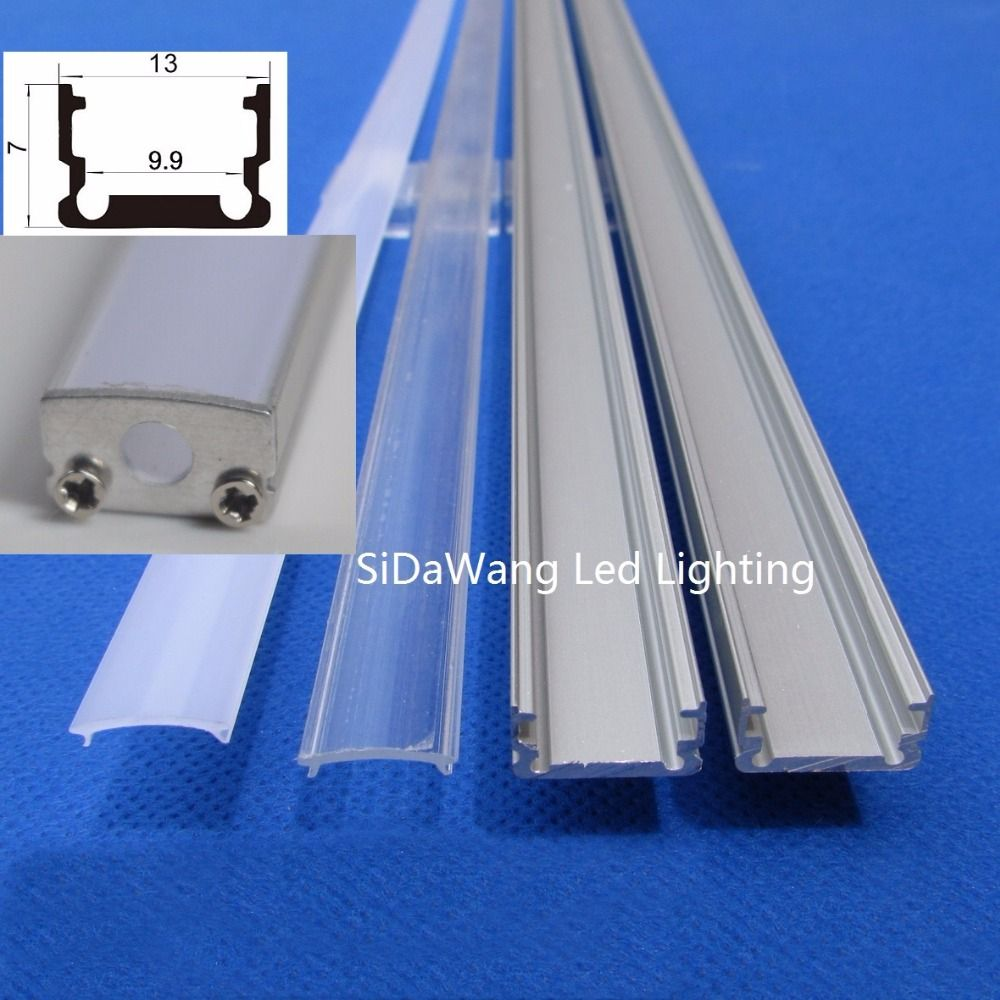 10-40pieces x1m Aluminum led channel;Aluminum channel led for Aluminium profile led strip AP1307