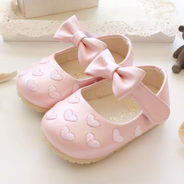 Free shipping Baby shoes Autumn Children princess Baby leather 0 - 1 - 2 years old baby soft outsole toddler Baby girls shoes