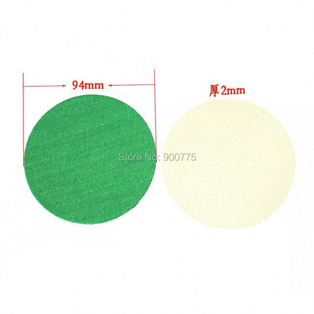 Air Hockey 94mm Sticker Green Soft Pad -10 pcs /lot  Adult Table games entertainments  toys table hockey game