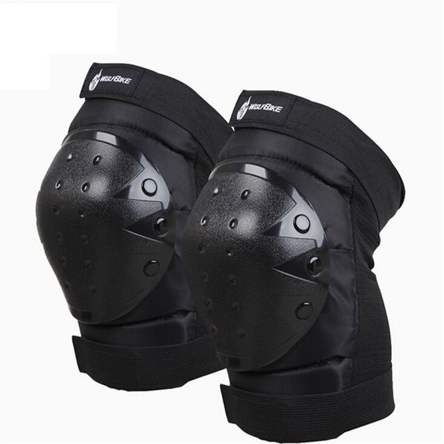 Motorcycle Knee Protector Knee Guard Support Mountain Bike Cycling Kneepads MTB Bicycle Protection Gear Downhill Skiing Kneepads