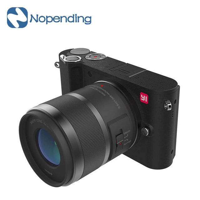 "IN STOCK!! YI M1 Mirrorless Digital Camera 4k/30fps 3.0"" LCD 20MP Video Action Camera Recorder WIFI Bluetooth 81 AF Points 720RG"
