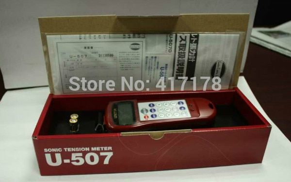Lonati Socks Machine Repair Tools --Janpan Ultrasonic Belt Tension Meter U508