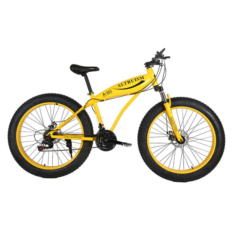 ALTRUISM A-100 Fat Bike 21 Speed 26 Inch Snow Bike mountain bike Aluminum Alloy Bicycle Frame 26*4.0 Fat Bikes