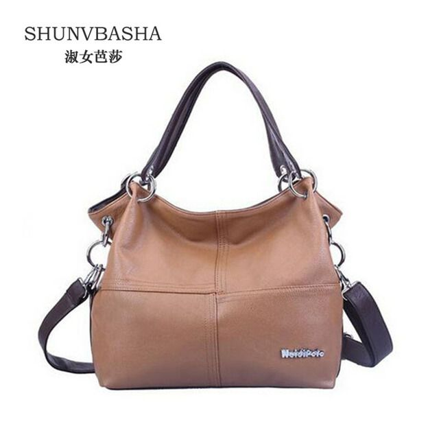 New 2016 Retro Vintage Women's Leather Handbag Tote Trendy Shoulder Bags Messenger Bag Cross body bag Bolsas Free shipping