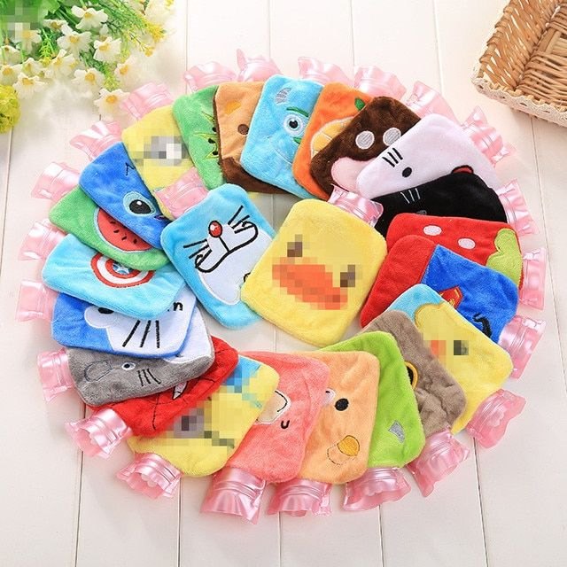 Creative Cute Batman Cartoon Totoro Kawaii Hello kitty Fashion Fruits Hand Feet Warm Hot Water-filling Hot-water Bag Bottles