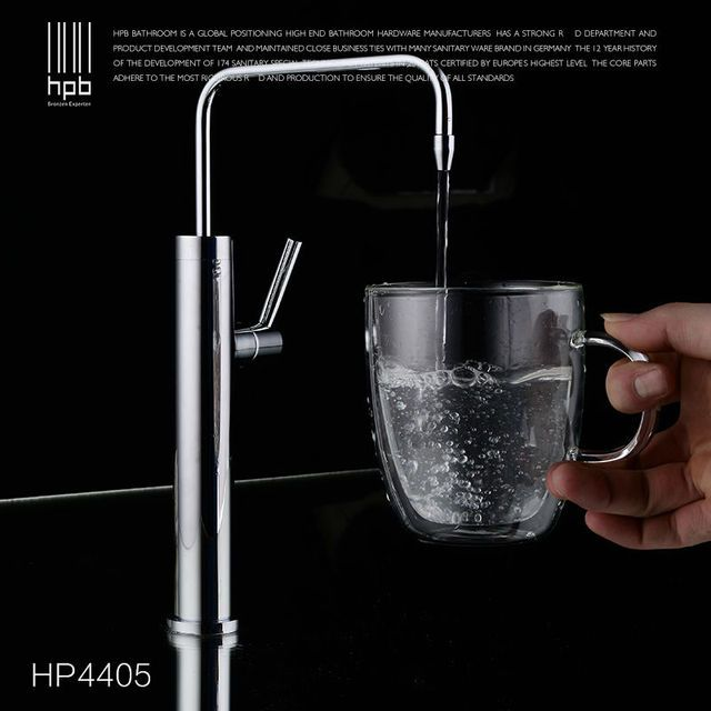HPB Brass Lead-free Cold Water Kitchen Faucet Drinking Water Spout Tap Filter purified Water Single Handle Single Hole HP4405