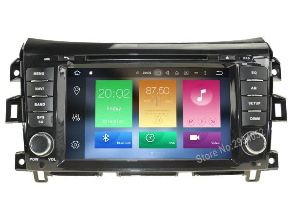 FOR NISSAN NAVARA Android 8.0 Car DVD player Octa-Core(8Core) 4G RAM 1080P 32GB ROM WIFI gps head device unit stereo
