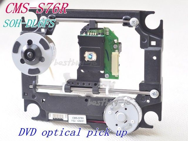 DVD Audio systemLaser head CMS-S76R for philips DVD   SOH-DL6FS  SOH-DL6F  with plastic mechanism Optical pick up DL6FS  DL6
