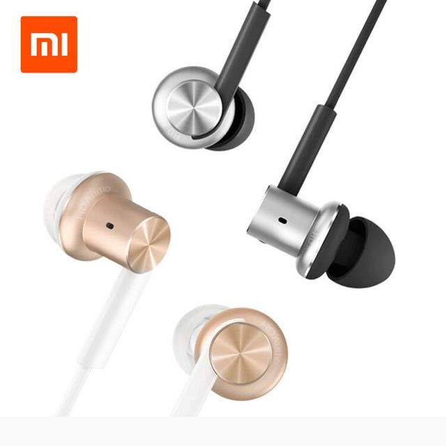 Original Xiaomi Mi IV Hybrid Earphones Wired Control with MIC Dual Drivers Dynamic and two balanced-armature drivers