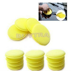 12 PCS Fashion Waxing Polish Wax Foam Sponge Applicator Pads For Clean Cars Vehicle