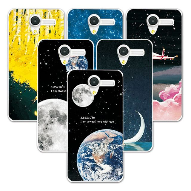 FOR Alcatel OneTouch Pop 3 Couple Phone Case Space Stars Fantasy Art Print For Alcatel 5065D 5065X 5065W 5015D Soft Back Cover